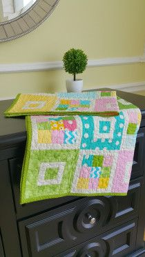 Collorful Baby quilt available for sale in Dubai
