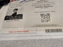 Justin Bieber Concert Tickets