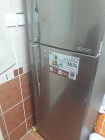 Two door LG refrigerator for sale at the end may 2017