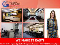 Beautiful and Brand new and well organized FURNISHED office units are available