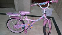 GIRLS BIKE, Brand : FAMILY, Just like New, Sparingly used, Pink