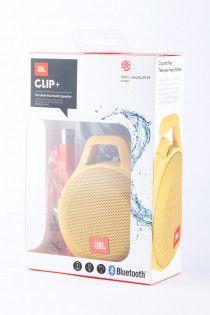 JBL Clip + Portable Bluetooth Speaker Yellow (T#77)