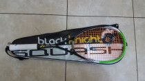 Black Knight Great White Doubles Squash Racket 2017