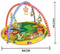 Newborn Baby Play mat Activity Gym Carpet with Music - Lion