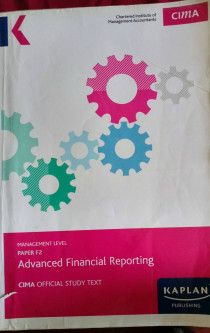 CIMA MANAGEMENT LEVEL OFFICIAL TEXT - F2  - ADVANCED FINANCIAL REPORTING