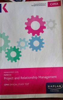 CIMA MANAGEMENT LEVEL OFFICIAL TEXT - E2 - PROJECT AND RELATIONSHIP MANAGEMENT