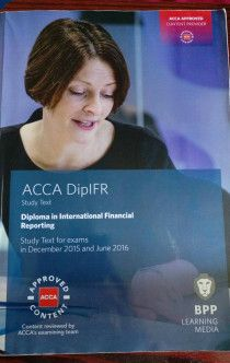 ACCA DIPLOMA IN IFRS TEXTBOOK AND REVISION KIT