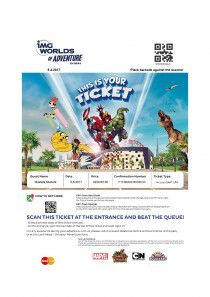 IMG Ticket Voucher Available