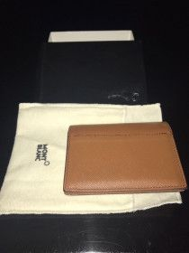 Mont blanc brown original wallet as new