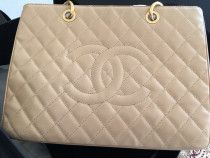 Authentic chanel gst caviar with full inclusion
