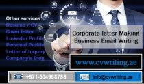 +971504968788 Corporate letter Making and Business Email Writing Services in UAE