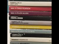 13 CDs from FABRIC club