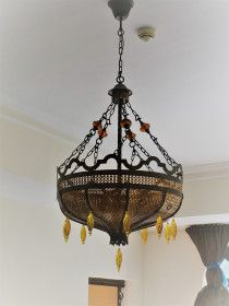 3 Rare Moroccan Chandeliers