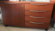 EXECUTIVE DESK WITH CABINET AND DRAWER