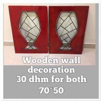 wodden wall decoration