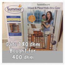 wood & metal gate