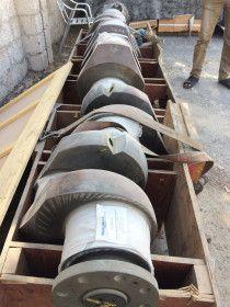 Crank shaft for marine engine