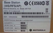 Motorola AP-7131-66040-D-WR-D  DUAL RADIO 802.11N ADAPTIVE ACCESS POINT