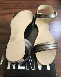RENVY brand new leather sandals