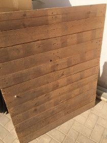 Wall wooden pallets -0555450341
