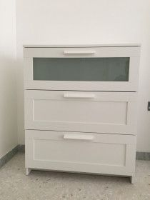 IKEA BRIMNES chest of draws (white)