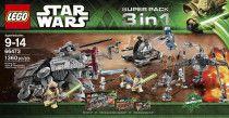 LEGO 66473 Retired Star Wars 3 in 1 Superpack-Battle of Geonosis
