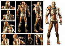 NECA Retired 1/4 Scale Iron Man Midas Armor-Mark XXI