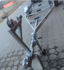 16 feet galvanized boat trailer for sale