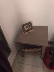 Chest of drawers, side tables in give away price