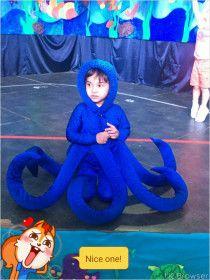 realistic Octopus Costume