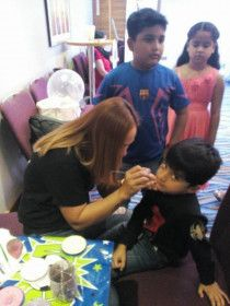 Face Painter / Party Host and Game Organizer / Party Services Dubai / UAE