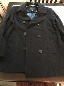 Unisex woollen coat