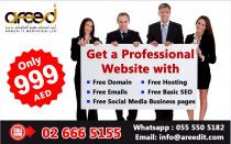 Get a Professional Website for Your Business for ONLY 999AED!