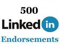 500 LinkedIn Endorsements!  (0582269188/0556294477)