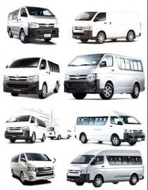 Highroof Van 14 Seats Minibuses Rental