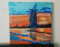 Painting of The Burj Al Arab