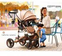 Belecoo 2017 model luxury pram stroller 3 in one. free delivery. 1year warranty