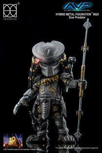 Hero Cross Hybrid Metal Scar PredatorLimited Edition Figure