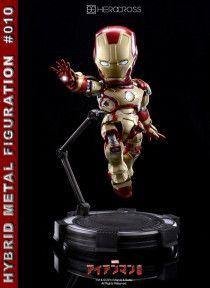 Hero Cross Hybrid Metal Iron Man Limited Edition Figure