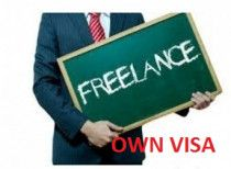 CHEAP OWN VISA/ FREELANCE VISA AVAILABLE ANYTIME