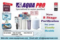 RO Water Purifier - Aquapro