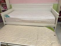 White Bed with 2 free mattresses