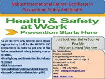NEBOSH International General Certificate (IGC) = Career Advancement +Increased