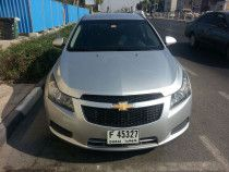 Chevy Cruze Silver For Sale  119000 KM  Excellent Condition