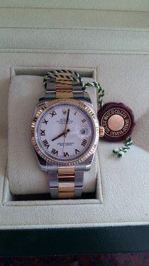 Rolex gold n steel