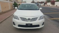 Ramadan offer, take toyota corolla 2012, very low mileage, without down payment