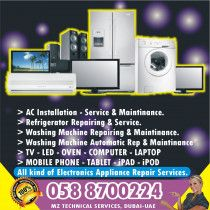 Home Appliance Repairing & Maintenance Services