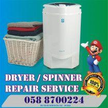 Dryer Spinner Repairing & Maintenance Service