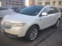 White Lincoln MKX Full Option 2014