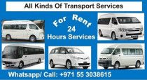 Minibuses Rental Services